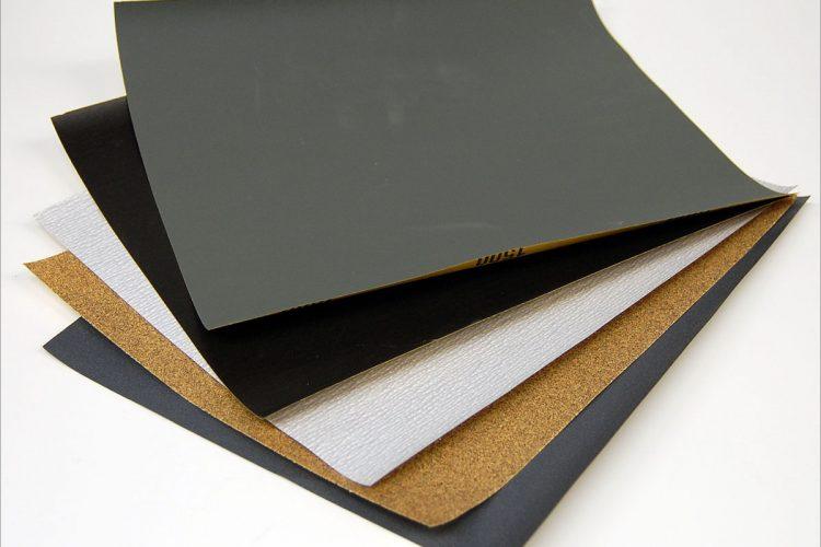 กระดาษทราย งานสี